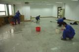 地板打蜡方法天津拓荒保洁打蜡操作流程